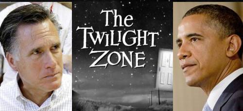 twilight zone romney obama