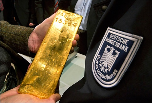 Germans and their gold: U.S. Dollar no longer reserve currency Germany-gold