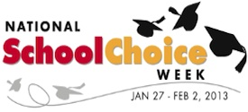 school choice week logo