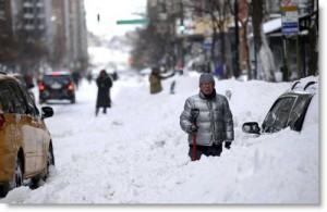 2010 blizzard, NYC