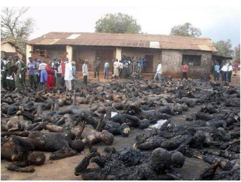 catholics burned