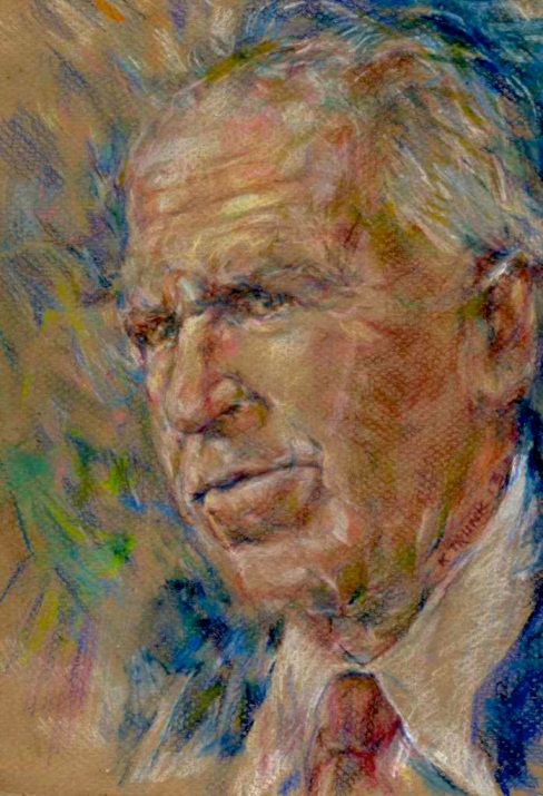 """John Brennan"" by artist Katherine Trunk 