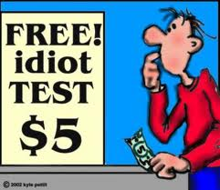 free idiot test